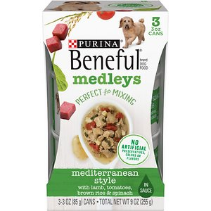 Purina Beneful Medleys Mediterranean Style Canned Dog Food