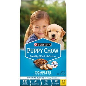 Puppy Chow Complete Chicken Flavor Dry Dog Food