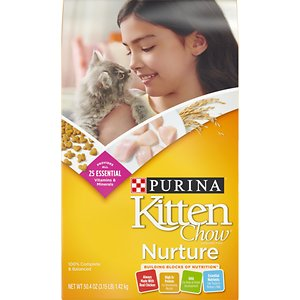 Kitten Chow Nurture Dry Cat Food