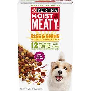 Moist & Meaty Rise & Shine Awaken Bacon and Egg Flavor Dry Dog Food