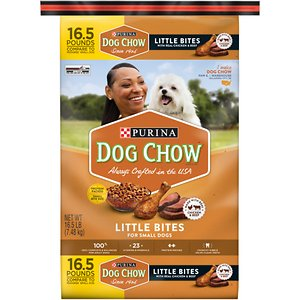 Dog Chow Little Bites with Real Chicken & Beef Dry Dog Food