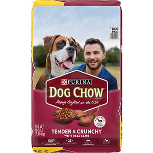 Dog Chow Tender & Crunchy with Real Lamb Dry Dog Food