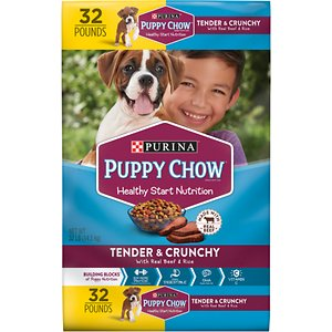Puppy Chow Tender & Crunchy with Real Beef Dry Dog Food