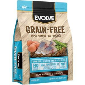 Evolve Grain-Free Ocean Whitefish & Egg Recipe Dry Cat Food