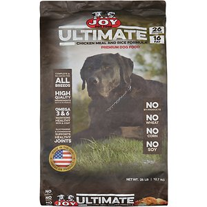 Joy Ultimate Chicken Meal and Rice Formula Dry Dog Food