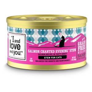 I and Love and You Salmon Chanted Evening Stew Grain-Free Canned Cat Food