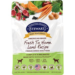 Stewart Raw Naturals Lamb Recipe Grain-Free Freeze-Dried Dog Food