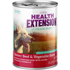 Health Extension Grain-Free Savory Beef Stew Canned Dog Food