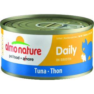 Almo Nature Daily Tuna in Broth Grain-Free Canned Cat Food