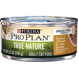 Purina Pro Plan True Nature Classic Natural Chicken & Liver Entree Grain-Free Canned Cat Food