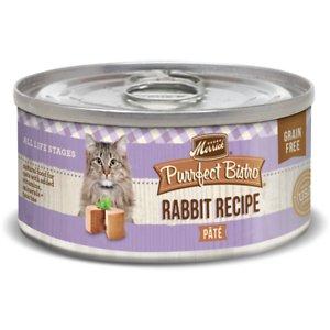 Merrick Purrfect Bistro Rabbit Pate Grain-Free Canned Cat Food