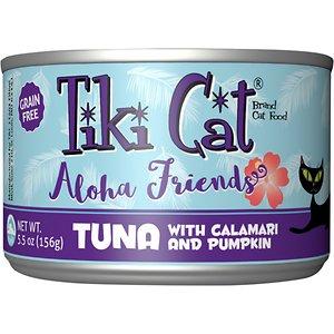 Tiki Cat Aloha Friends Tuna with Calamari & Pumpkin Grain-Free Wet Cat Food
