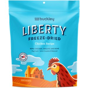 Buckley Liberty Chicken Recipe Grain-Free Freeze-Dried Raw Dog Food