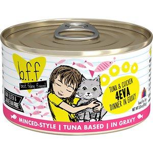 BFF Tuna & Chicken 4-Eva Dinner in Gravy Canned Cat Food