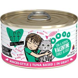 BFF Tuna & Pumpkin Valentine Dinner in Gravy Canned Cat Food