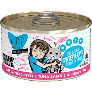 BFF Tuna & Shrimp Sweethearts Dinner in Gravy Canned Cat Food