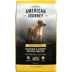American Journey Large Breed Chicken & Sweet Potato Recipe Grain-Free Dry Dog Food