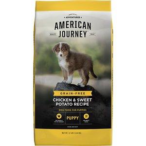 American Journey Chicken & Sweet Potato Recipe Grain-Free Puppy Dry Dog Food
