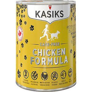 KASIKS Cage-Free Chicken Formula Grain-Free Canned Dog Food