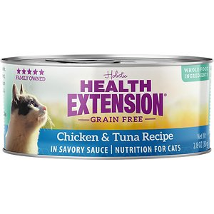 Health Extension Grain-Free Chicken & Tuna Recipe Canned Cat Food