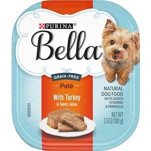 Purina Bella with Turkey in Savory Juices Small Breed Wet Dog Food Trays