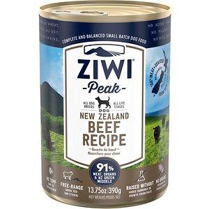 Ziwi Peak Beef Recipe Canned Dog Food