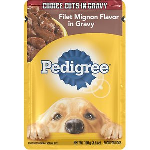 Pedigree Choice Cuts Filet Mignon Flavor in Gravy Wet Dog Food