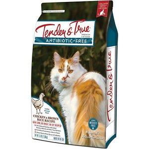 Tender & True Chicken & Brown Rice Recipe Dry Cat Food