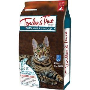 Tender & True Limited Ingredient Ocean Whitefish & Potato Recipe Grain-Free Dry Cat Food