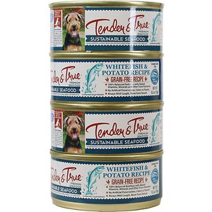 Tender & True Limited Ingredient Ocean Whitefish & Potato Recipe Grain-Free Canned Dog Food