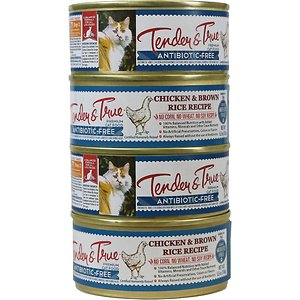 Tender & True Chicken & Brown Rice Recipe Canned Cat Food