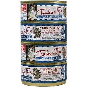 Tender & True Turkey & Brown Rice Recipe Canned Cat Food
