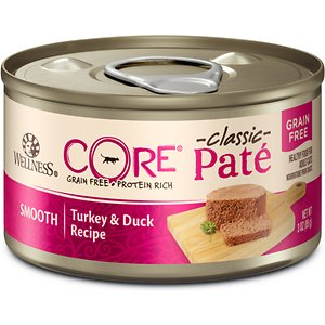 Wellness CORE Natural Grain Free Turkey & Duck Pate Canned Cat Food