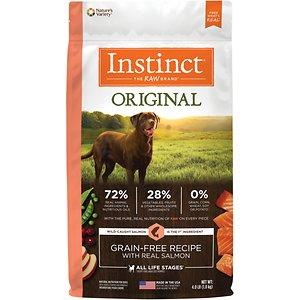 Instinct Original Grain-Free Recipe with Real Salmon Freeze-Dried Raw Coated Dry Dog Food