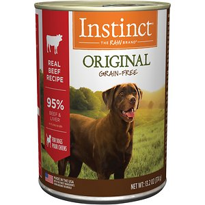 Instinct Original Grain-Free Real Beef Recipe Natural Wet Canned Dog Food