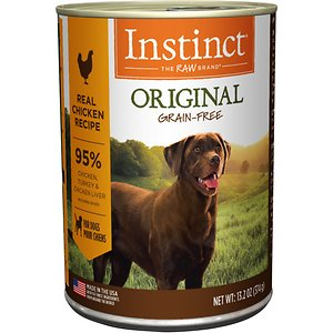 Instinct Original Grain-Free Real Chicken Recipe Natural Wet Canned Dog Food