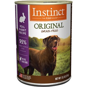 Instinct Original Grain-Free Real Rabbit Recipe Natural Wet Canned Dog Food