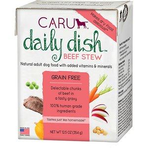 Caru Daily Dish Beef Stew Grain-Free Wet Dog Food