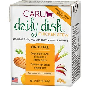 Caru Daily Dish Chicken Stew Grain-Free Wet Dog Food