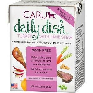 Caru Daily Dish Turkey with Lamb Stew Grain-Free Wet Dog Food