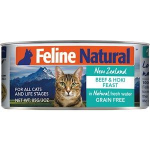 Feline Natural Beef and Hoki Feast Grain-Free Canned Cat Food