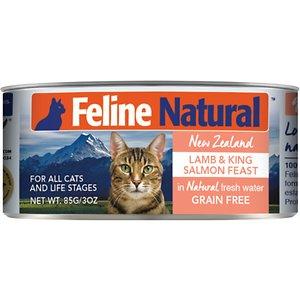 Feline Natural Lamb & King Salmon Feast Grain-Free Canned Cat Food