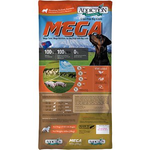 Addiction Grain-Free Mega Large Breed Dry Dog Food