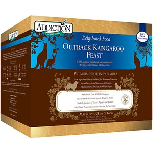 Addiction Outback Kangaroo Feast Raw Grain-Free Dehydrated Dog Food