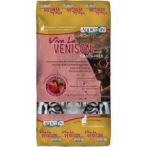 Addiction Grain-Free Viva La Venison Dry Cat Food
