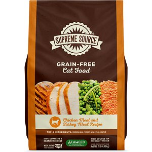 Supreme Source Chicken Meal & Turkey Meal Grain-Free Dry Cat Food