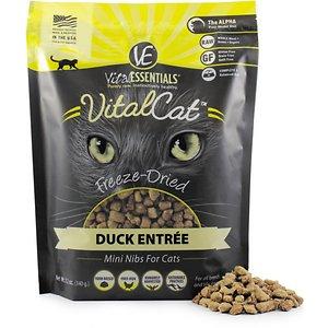 Vital Essentials Duck Mini Nibs Entree Freeze-Dried Cat Food