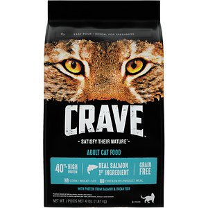 Crave with Protein from Salmon & Ocean Fish Adult Grain-Free Dry Cat Food