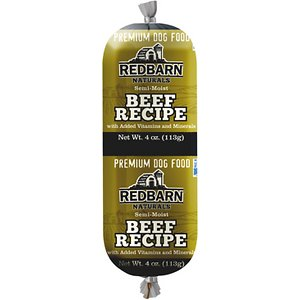 Redbarn Naturals Beef Recipe Dog Food Roll