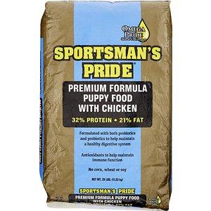 Sportsman's Pride Premium 32/21 Formula Puppy Food